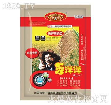 喜洋洋水稻专用-金亿丰