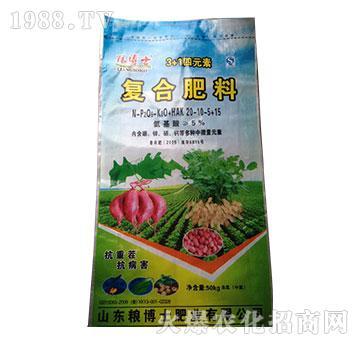 复合肥料20-10-5+15-粮博士-中农国控