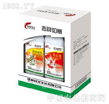 40克烟嘧磺隆-吉祥龙+38%莠去津-如意郎-祥龙生化