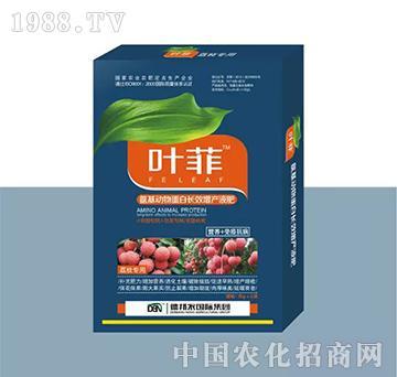 荔枝专用叶面肥(盒装)-叶菲-德邦农