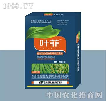 水稻专用叶面肥(盒装)-叶菲-德邦农