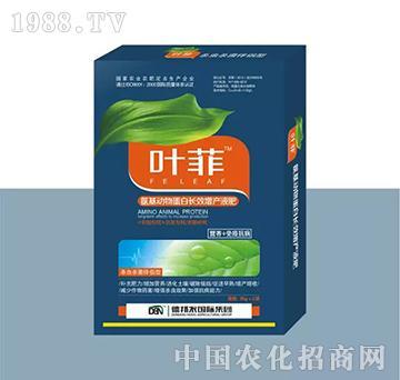 杀虫杀菌伴侣型叶面肥(盒装)-叶菲-德邦农
