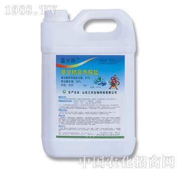 30%草甘膦(4kg)-篮火焱-三农