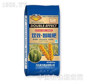 双效智能肥-小麦专用-黑牛肥业