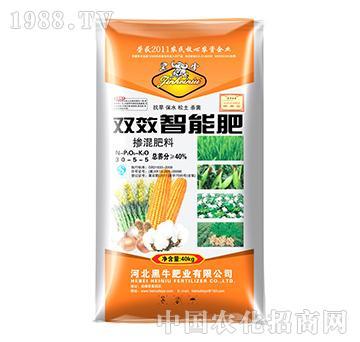 双效智能玉米肥30-5-5-黑牛肥业
