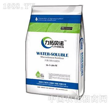 大量元素水溶肥料15-7-28+TE-益生源