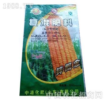 玉米专用复混肥料26-11-11-益生源