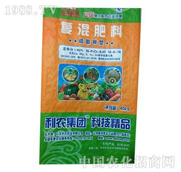 硫酸钾型复混肥料18-6-16-益生源