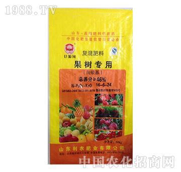 果树专用复混肥16-6-24-益生源