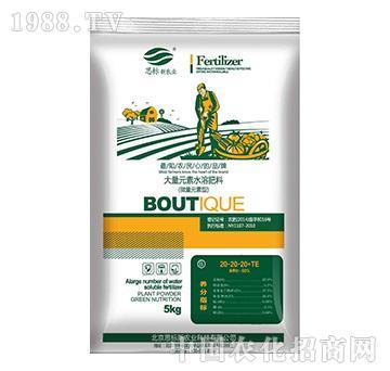 大量元素水溶肥料20-20-20+TE(蔬菜型)-思标