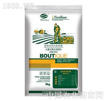 大量元素水溶肥料16-8-34+TE(蔬菜型)-思标
