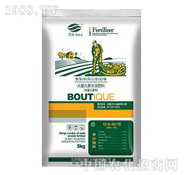 大量元素水溶肥料13-6-40+TE(蔬菜型)-思标