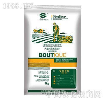 大量元素水溶肥料12-45-8+TE(蔬菜型)-思标