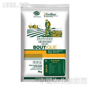 大量元素水溶肥料16-8-34+TE(瓜果型)-思标