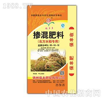 水稻专用掺混肥22-12-12-保丰肥业