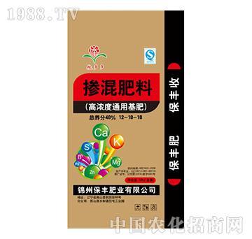 高浓度通用基肥12-18-18-保丰肥业