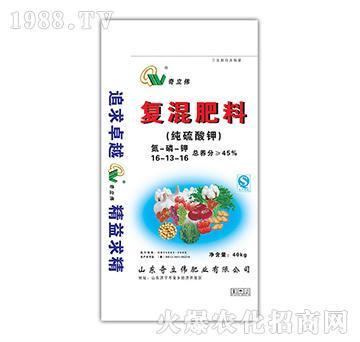 纯硫酸钾复混肥16-1