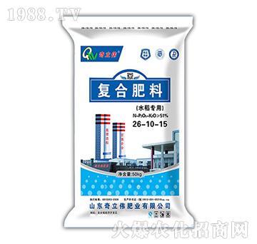 水稻专用复合肥料26-10-15-奇立伟