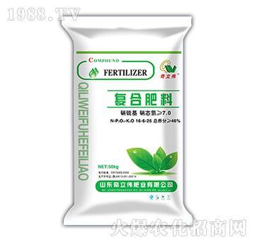 硫酸基复合肥料16-6-26-奇立伟