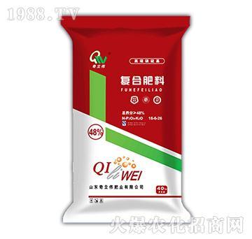 高塔硫酸基复合肥料16-6-26-奇立伟