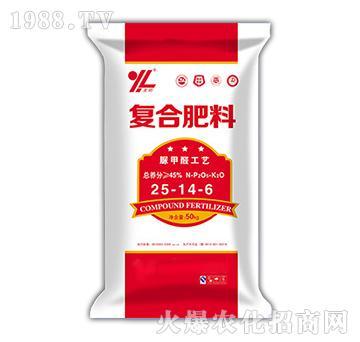 脲甲醛工艺复合肥料25-14-6-笑迎门-奇立伟