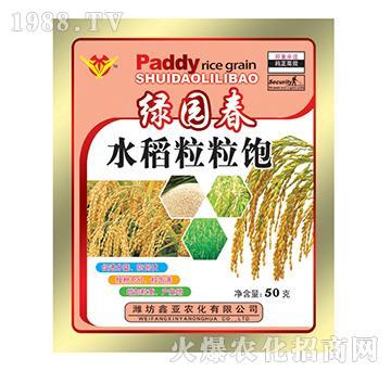 水稻粒粒饱-绿园春-鑫亚