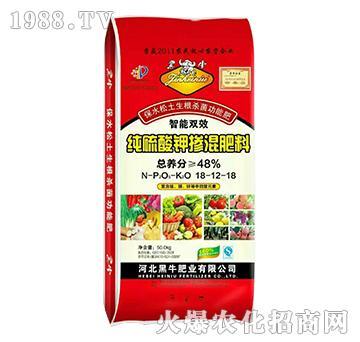 纯硫酸钾掺混肥料18-12-18-黑牛肥业