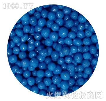 蓝色树脂包衣尿素-忠农肥业