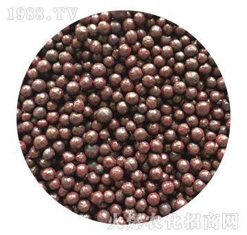 咖啡色包膜有机肥-忠农