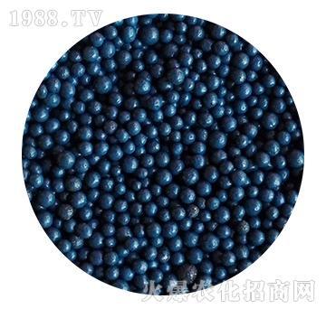 深蓝色包膜有机肥-忠农