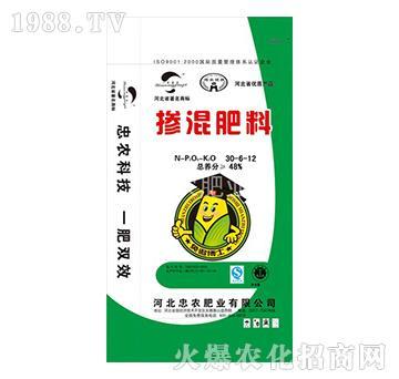 掺混肥料30-6-12