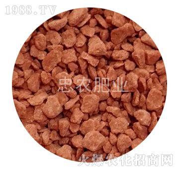 红色氯化钾颗粒-忠农肥