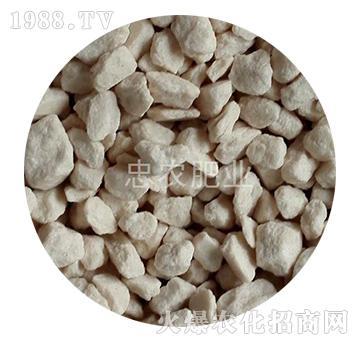 白色氯化钾颗粒-忠农肥