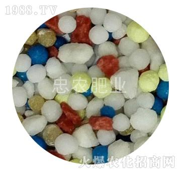 缓释掺混肥料(硫包衣型)-忠农肥业