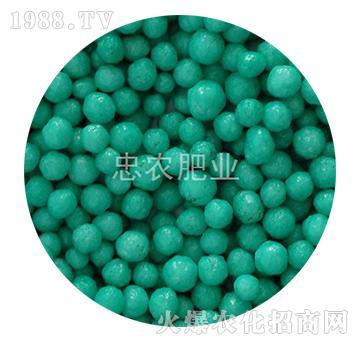 浅绿色树脂包衣尿素-忠