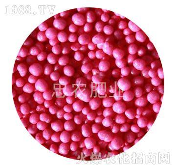 粉红色树脂包衣尿素-忠