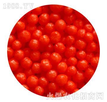 红色树脂包膜尿素-忠农肥业