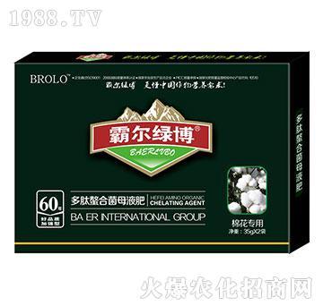 棉花专用叶面肥-霸尔绿博