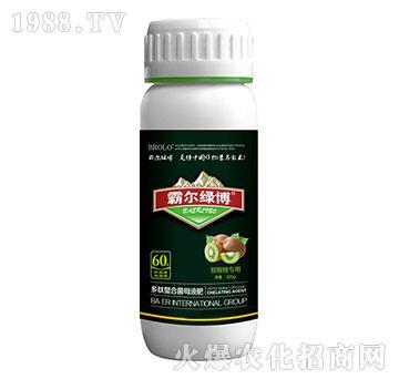 猕猴桃专用叶面肥瓶-霸尔绿博