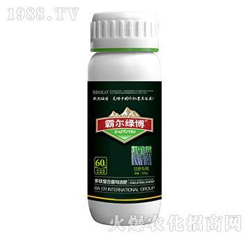 甘蔗专用叶面肥瓶-霸尔绿博