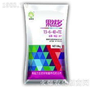 大量元素水溶肥13-6-40+TE单-果然多-力多美