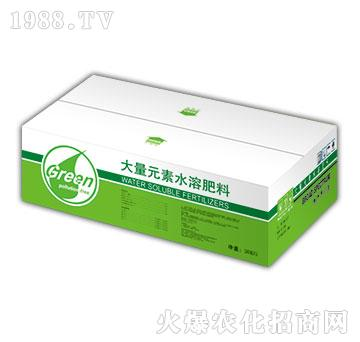 大量元素水溶肥20-20-20+TE盒-绿嘉源