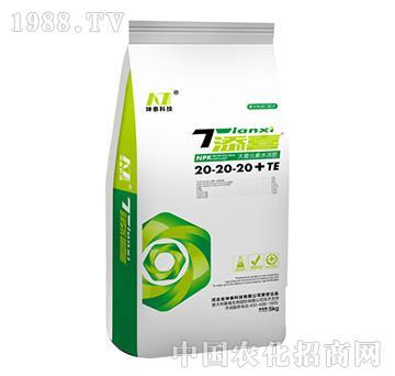 添喜大量元素水溶肥20-20-20+TE-坤泰科技
