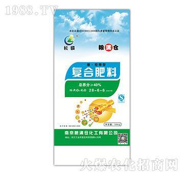缓控释型复合肥28-6-6-长磷-中磷大化