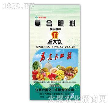 45%纯硫酸钾复合肥料20-5-20-施大壮-圣骐农业