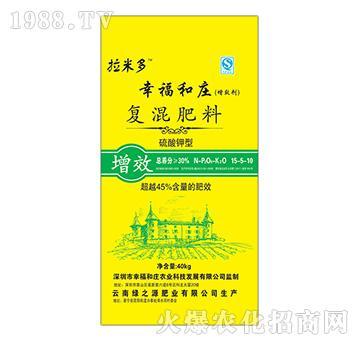 硫酸钾型复混肥料15-5-10-幸福和庄-拉米多-绿之源