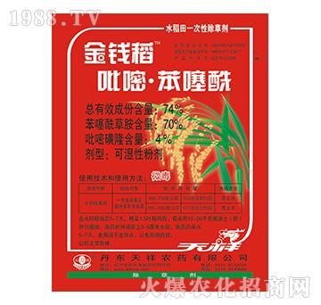 74%吡嘧苯噻酰-金钱稻-天祥