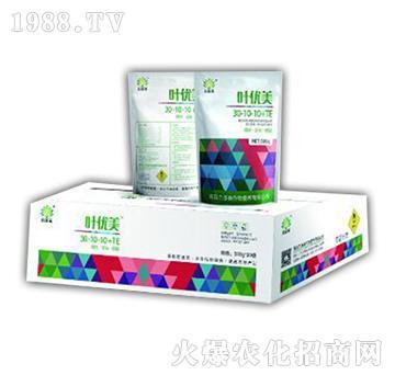 大量元素水溶肥30-10-10+TE-叶优美-力多美