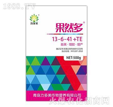 大量元素水溶肥13-6-41+TE-果然多-力多美
