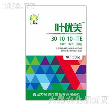 大量元素水溶肥30-10-10+TE(500g)-叶优美-力多美